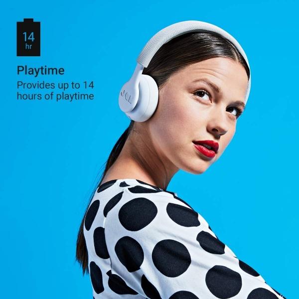 JAM Been There Kulak Üstü Bluetooth Kulaklık-Gray