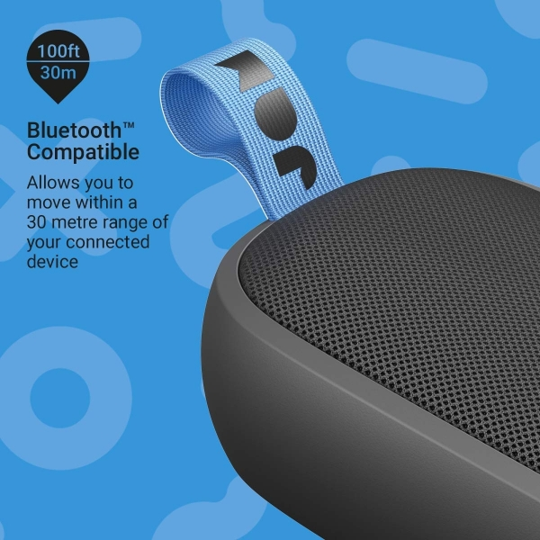 JAM Hang Around Su Geçirmez Bluetooth Hoparlör-Black