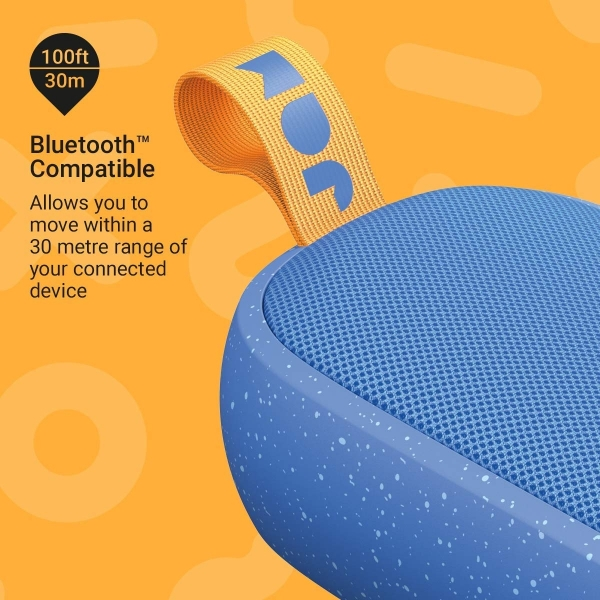 JAM Hang Around Su Geçirmez Bluetooth Hoparlör-Blue