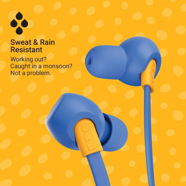 JAM Tune In Bluetooth Ense Tipi Kulaklık-Blue
