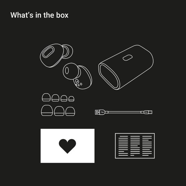 JAM Ultra Truly Bluetooth Kulak İçi Kulaklık