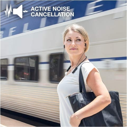 JLab Audio Epic Executive Wireless Ense Tipi Kulaklık-Black