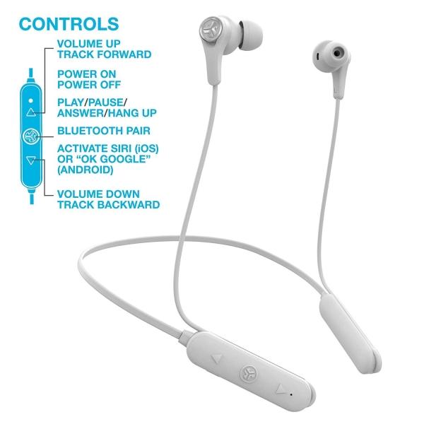 JLab Audio Epic Executive Wireless Ense Tipi Kulaklık-White