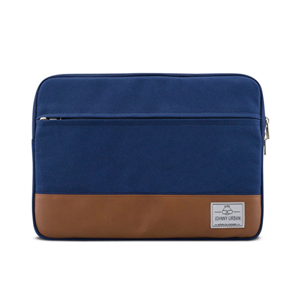 Johnny Urban Kanvas Laptop Çantası (11-12inç)-Blue
