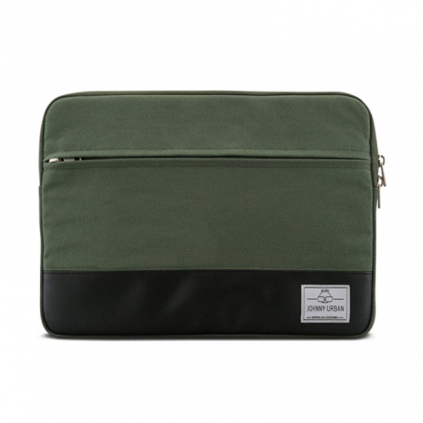 Johnny Urban Kanvas Laptop Çantası (11-12inç)-Green