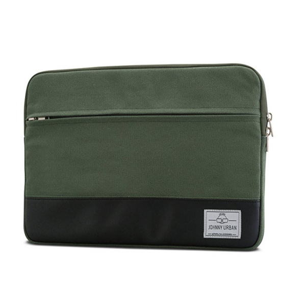 Johnny Urban Kanvas Laptop Çantası (13inç)-Green