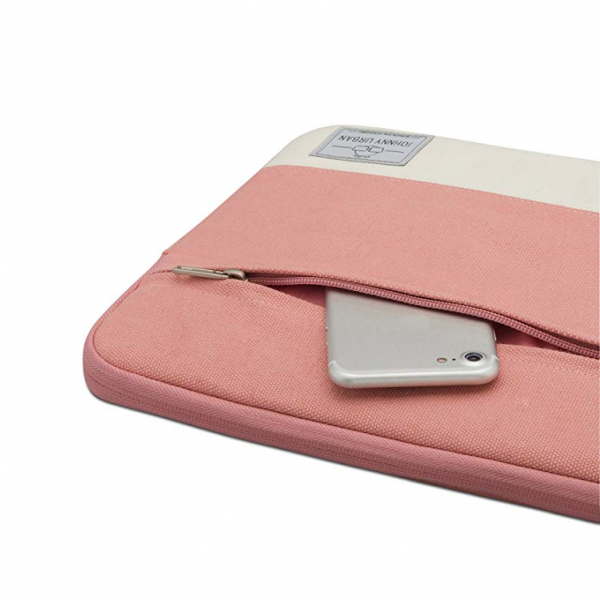 Johnny Urban Kanvas Laptop Çantası (14inç)-Pink