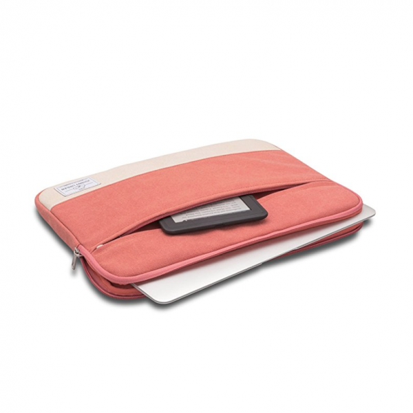 Johnny Urban Kanvas Laptop Çantası (15inç)-Red