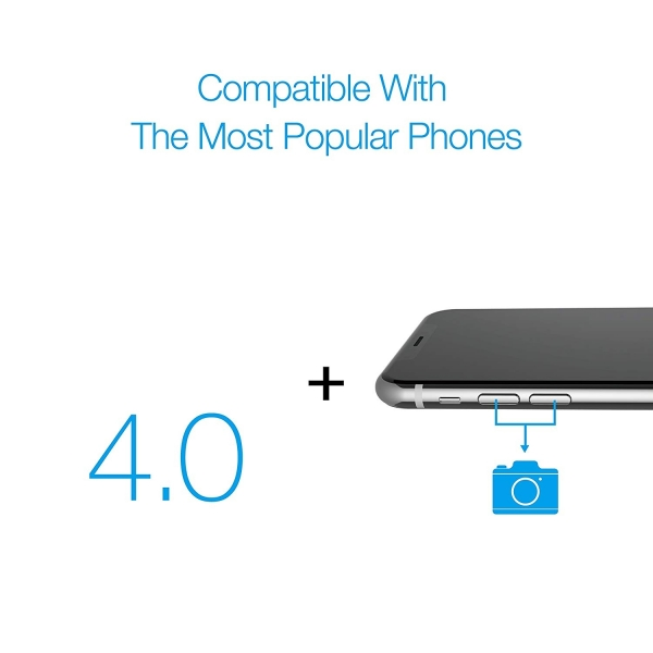 Just Mobile ShutterGrip Telefon İçin Kamera Deklanşörü-Gold