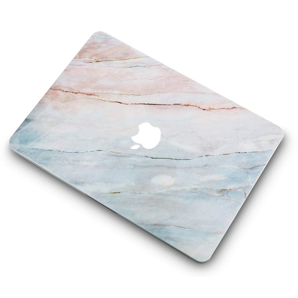 KECC MacBook Air Kapak Kılıf (Retina 13.3 inç)(2018)-Granite Marble