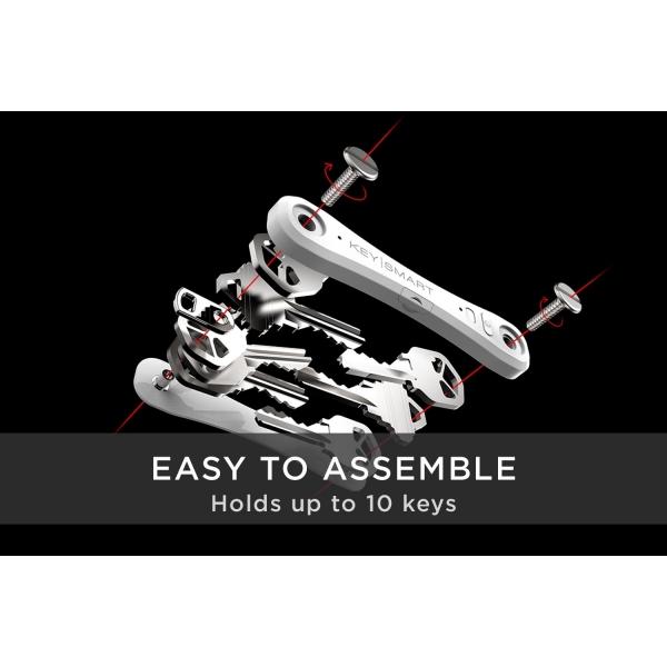 KeySmart Pro Akıllı Anahtarlık-White