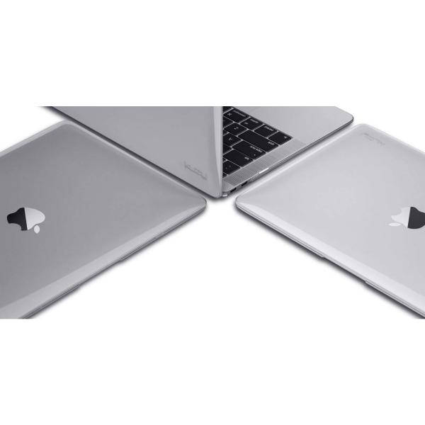 Kuzy MacBook Air Kılıf (13 inç) )(2018)-Clear