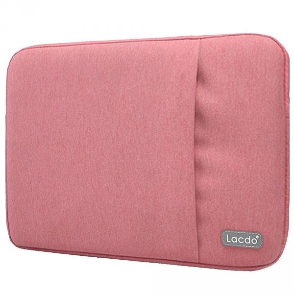Lacdo MacBook Pro 11 inch Su Geçirmez Çanta-Pink
