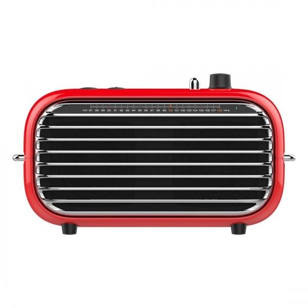 Lofree Poison Taşınabilir Wireless Hoparlör-Red