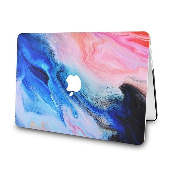 LuvCase Retina Ekran Macbook Air Kılıf (13 inç)(2018)-Oil Paint 4