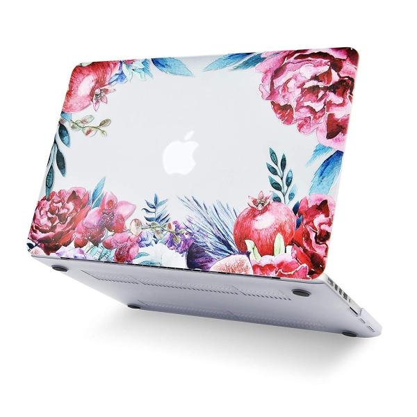 LuvCase Retina Ekran Macbook Air Kılıf (13 inç)(2018)-Classic Roses