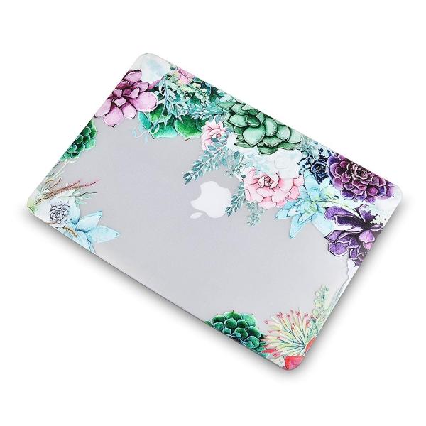 LuvCase Retina Ekran Macbook Air Kılıf (13 inç)(2018)-Floral Cluster