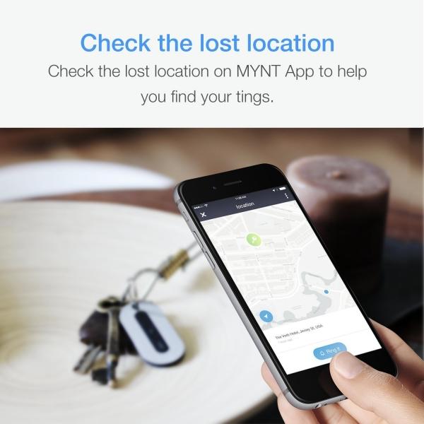 MYNT Akıllı Bluetooth İzleyici-Black
