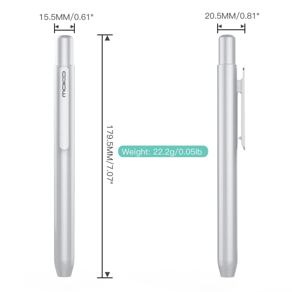 MoKo Apple Pencil Kılıf-Silver