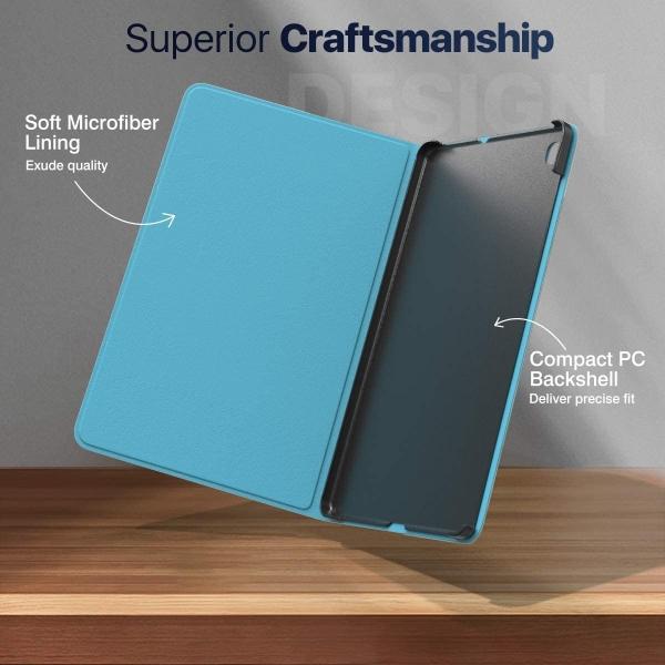 MoKo Galaxy Tab S6 Lite Kalem Bölmeli Kılıf (10.4 inç)-Mint