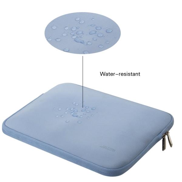 Mosiso Macbook 13 inç Su Geçirmez Çanta-Serenity Blue