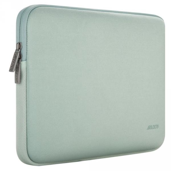 Mosiso Macbook 13 inç Su Geçirmez Çanta-Mint Green