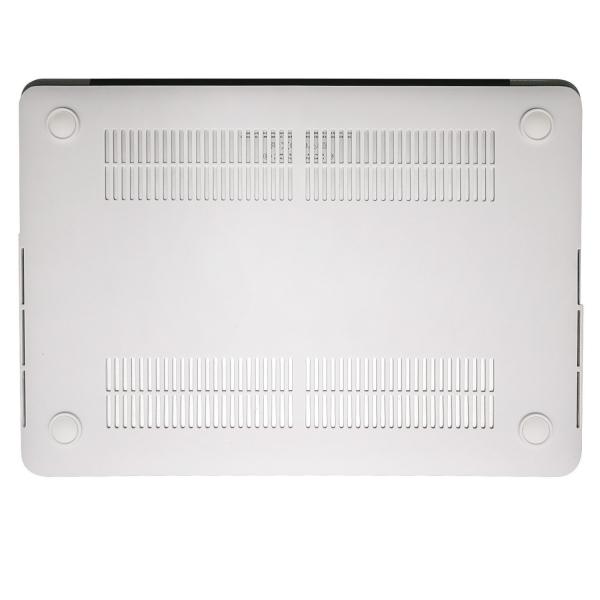 Mosiso Macbook Pro Retina Mermer Desenli Kılıf (15.4 inç)-Pink Marble