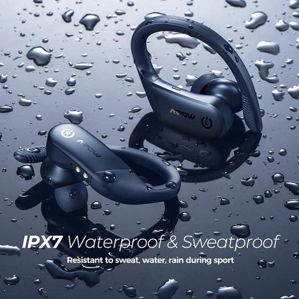 Mpow Flame Lite Bluetooth Kancalı Kulaklık-Navy