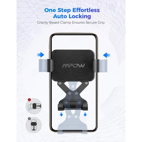 Mpow Gravity Araç İçi Telefon Tutucu