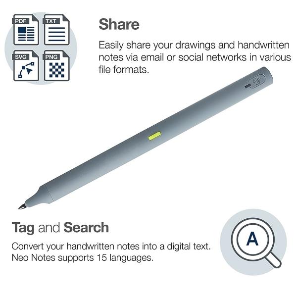 NeoLab M1 Akıllı Kalem-Gray