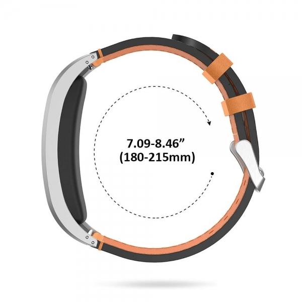NotoCity Garmin Vivofit 2 Deri Kayış-Brown