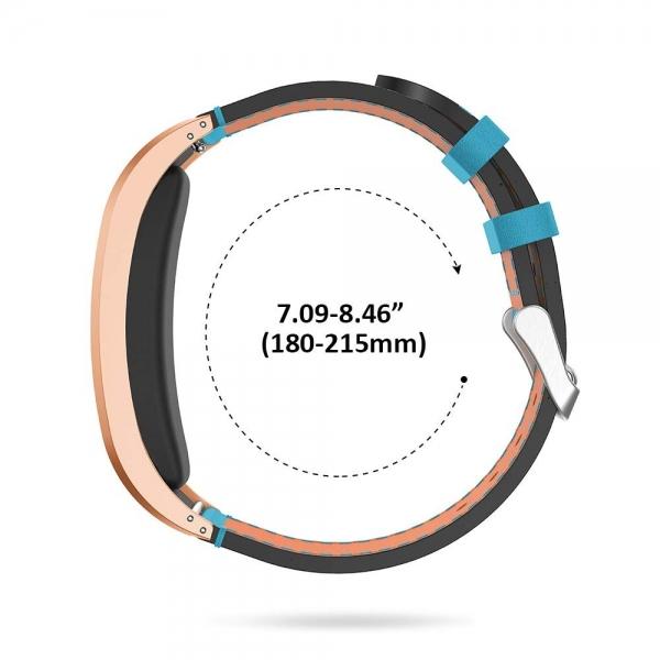 NotoCity Garmin Vivofit 2 Deri Kayış-Blue