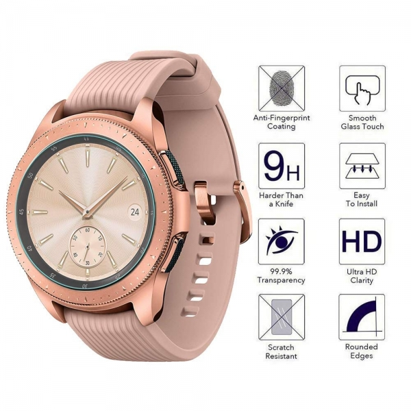Orzero Galaxy Watch Temperli Cam Ekran Koruyucu (42mm) (3 Adet)