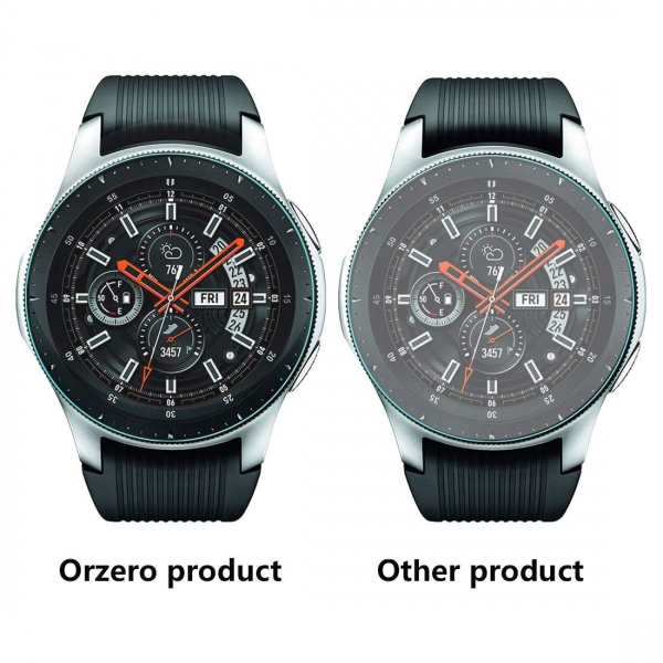 Orzero Galaxy Watch Temperli Cam Ekran Koruyucu (46mm) (3 Adet)