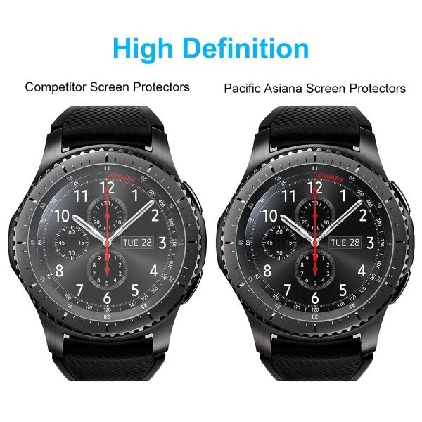 Pacific Asiana Samsung Gear S3 Balistik Temperli Cam Ekran Koruyucu (3 Adet)