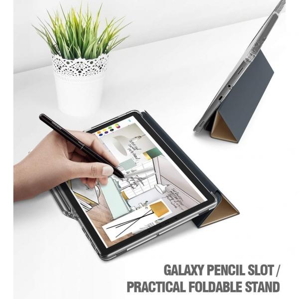 Poetic Galaxy Tab S4 Lumos X Silikon Kılıf (10.5 inç)-Gold