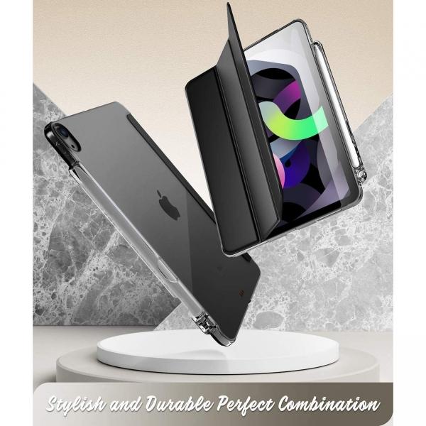 Poetic iPad Air 4 Lumos Serisi Kılıf (10.9 inç)-Black