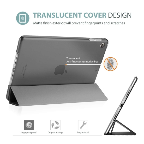 ProCase Apple iPad Kılıf (10.2 inç)(2019)-Grey