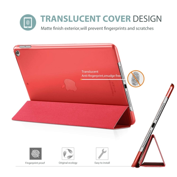 ProCase Apple iPad Kılıf (10.2 inç)(2019)-Red
