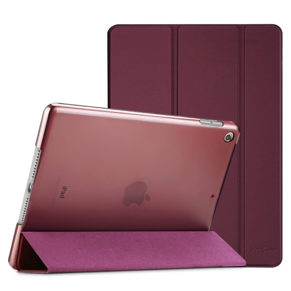 ProCase Apple iPad Kılıf (10.2 inç)(2019)-Wine