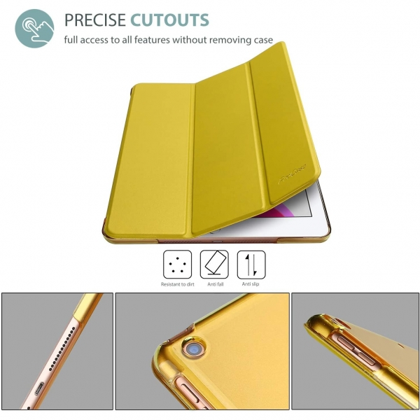 ProCase Apple iPad Kılıf (10.2 inç)(2019)-Antiquemoss