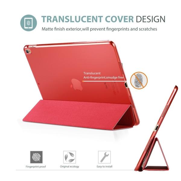 ProCase Apple iPad Pro Ultra Slim Stand Kılıf (10.5 inç)-Red
