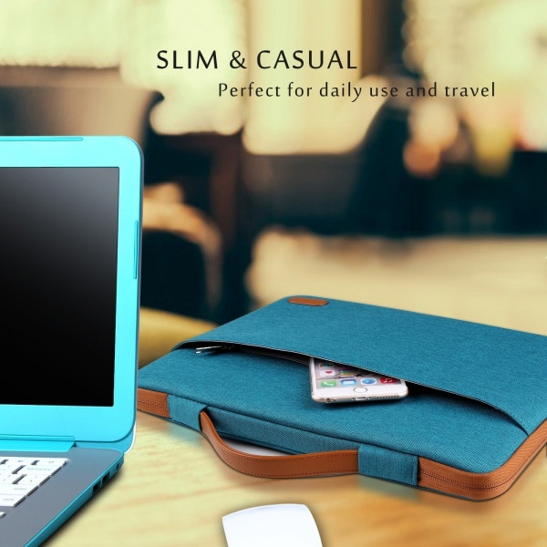 ProCase Laptop Çantası (14/15.6 inç)-Teal