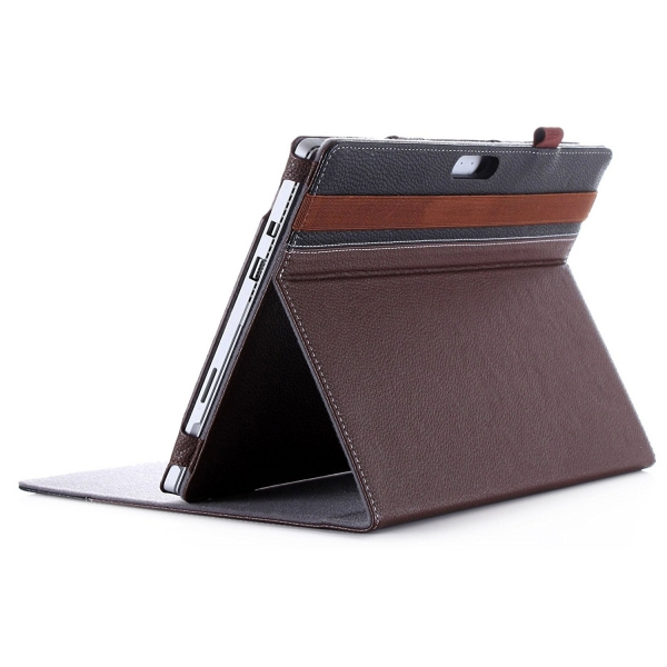 ProCase Microsoft Surface Pro 4 Premium Kılıf-Brown