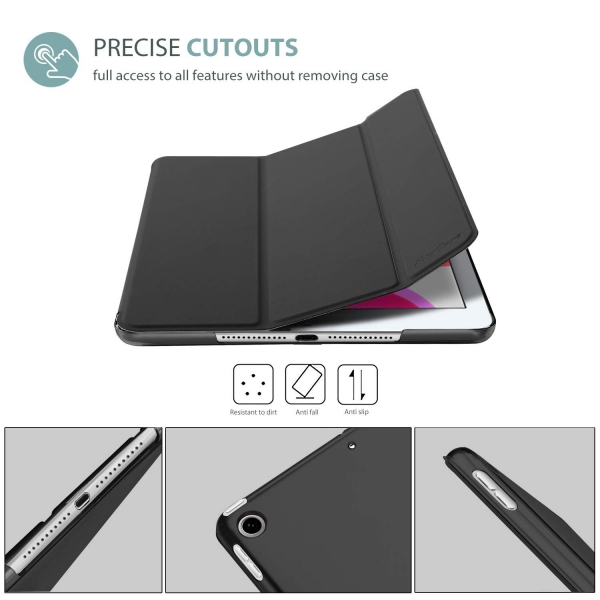 ProCase Apple iPad Kılıf (10.2 inç)(2019)-Black