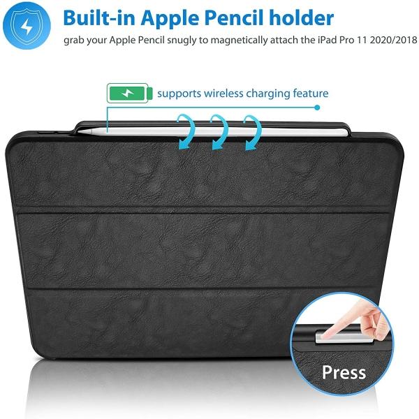 ProCase iPad Pro Kalem Bölmeli Kılıf (12.9 inç)(4.Nesil)
