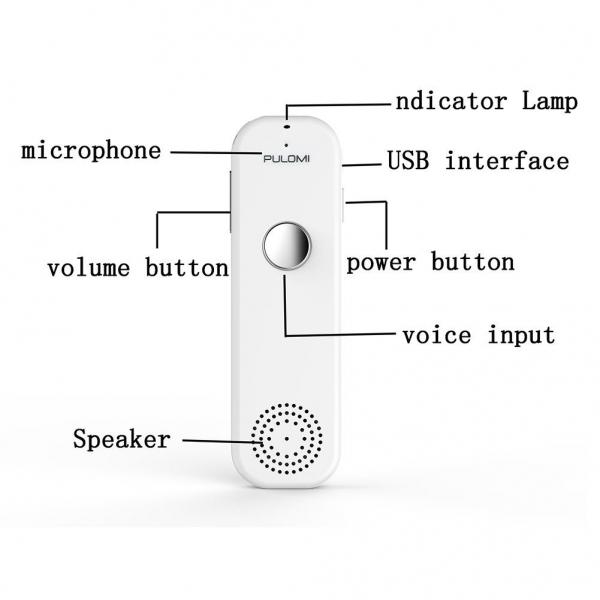 Pulomi TT Akıllı Tercüme Cihazı-White