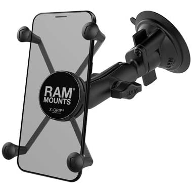 RAM X-Grip Twist-Lock Vantuzlu Araç İçi Telefon Tutucu (Long)