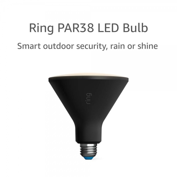 Ring PAR38 Akıllı LED Ampul-Black