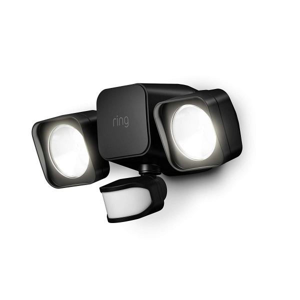 Ring Akıllı Sensörlü Işık-Black